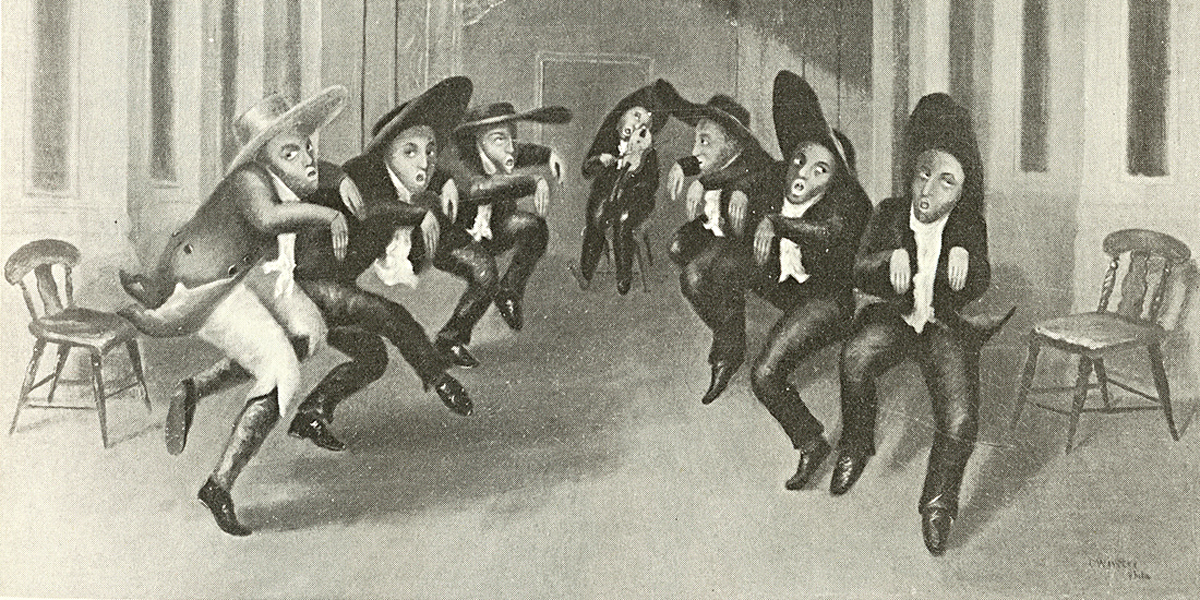 Shakers dance via Wikimedia Commons