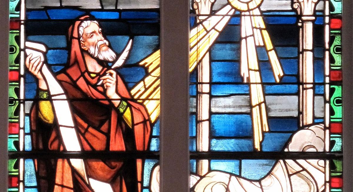 Isaiah Window at St. Matthews Lutheran Church in Charleston, SC