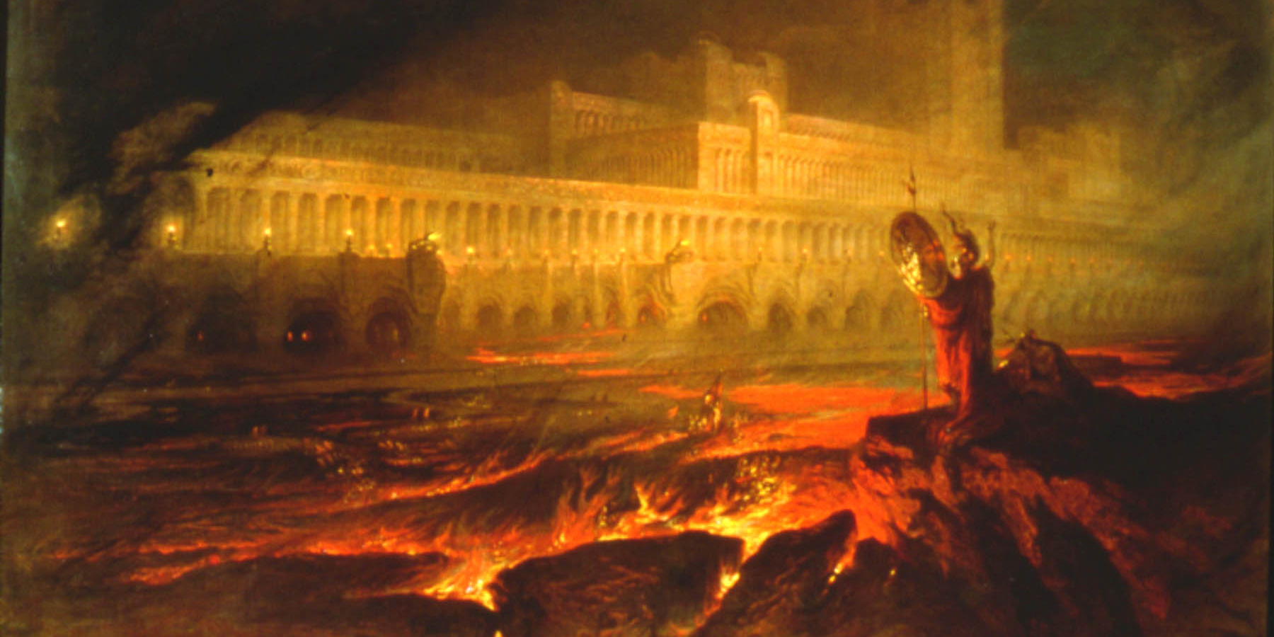 Pandemonium by John Martin, 1841 via Wikipedia.