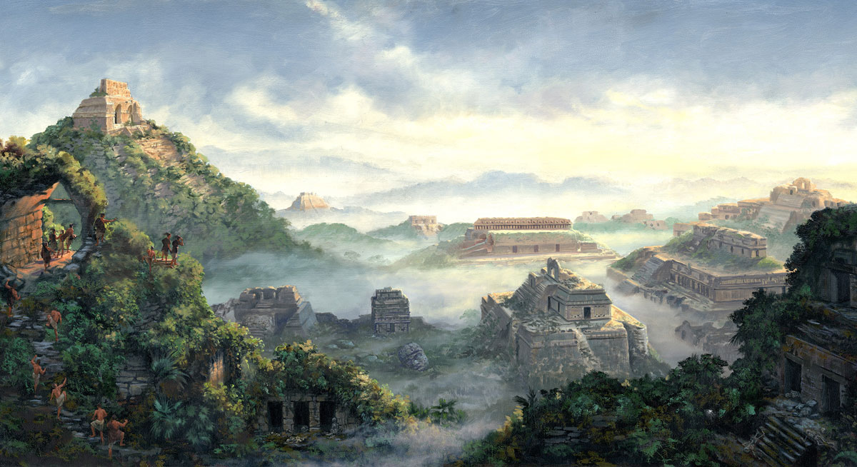 Dawn on the Land of Desolation, James Fullmer