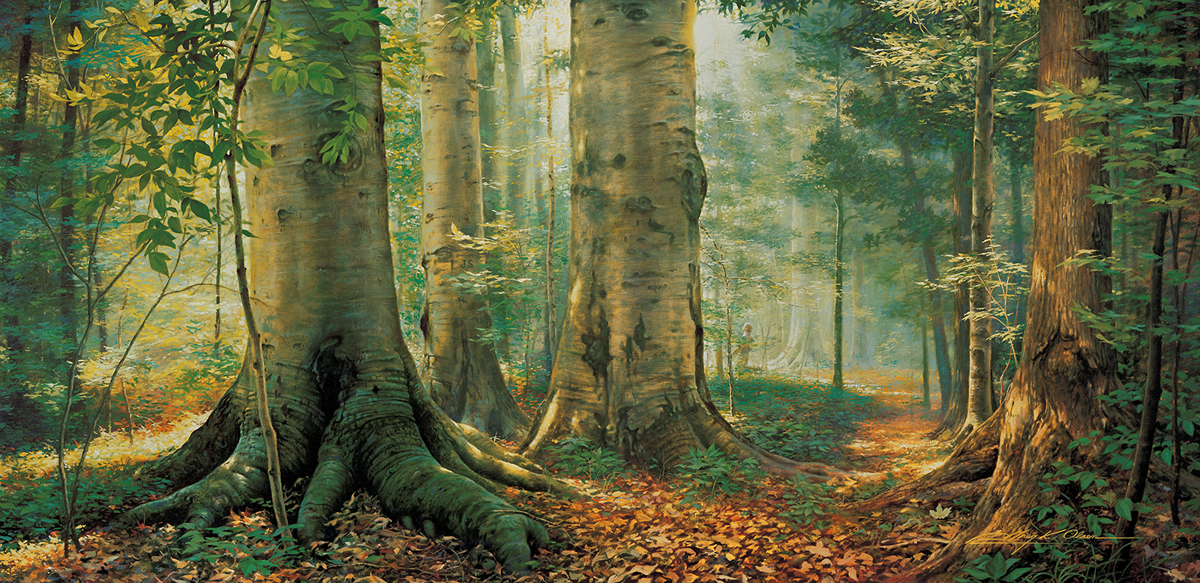 The Sacred Grove by Greg Olsen