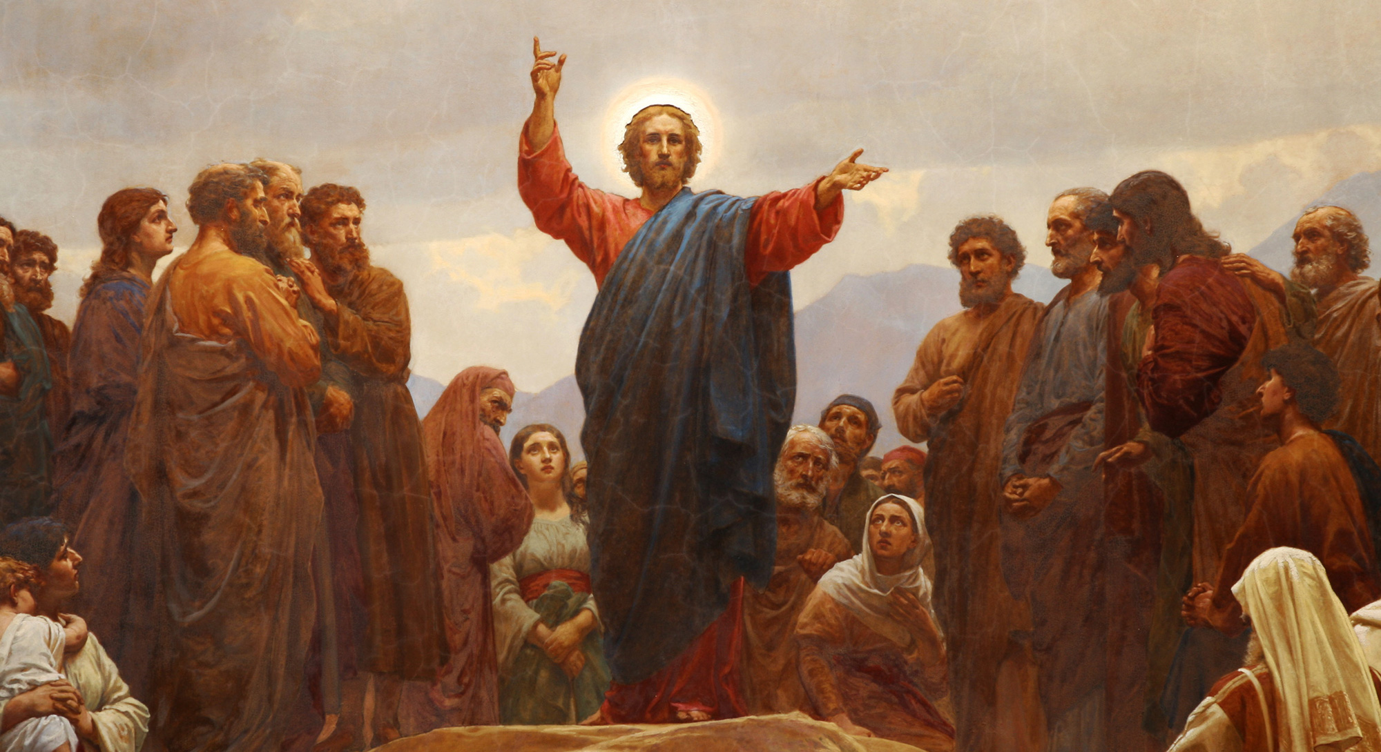 Sermon on the Mount, Henrik Olrik