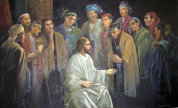 """""""Cristo con los 12"""" by Jorge Cocco"""