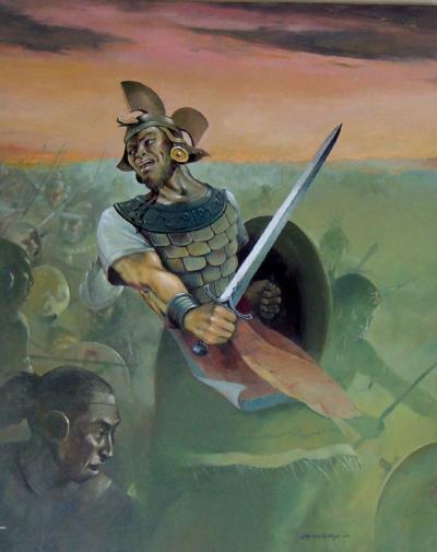 """""""Mormon en Batalla"""" by Jorge Cocco"""