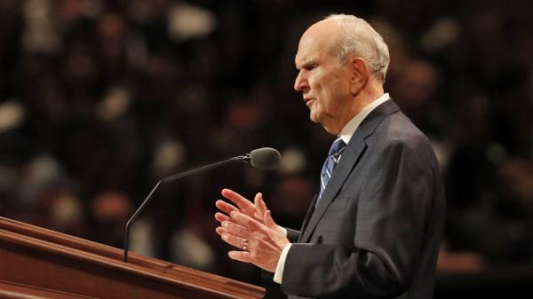 President Russell M. Nelson. Image via lds.org