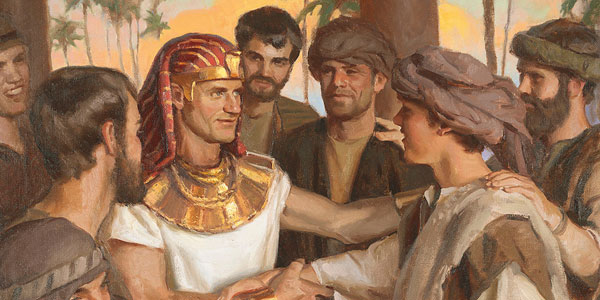 Joseph of Egypt, by Michael T. Malm via lds.org