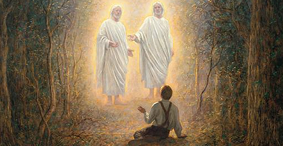 The First Vision via lds.org