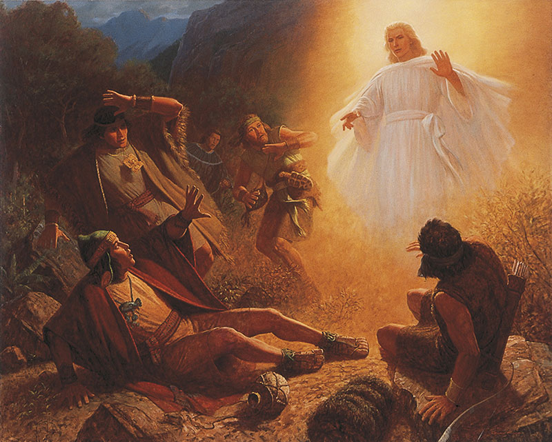 Conversion of Alma the Younger by Gary L. Kapp. Image via LDS Media Library.