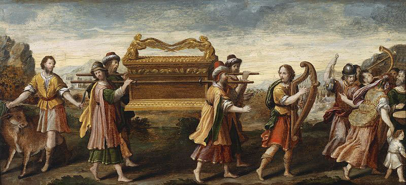 The Ark of the Covenant. Image via Wikimedia Commons