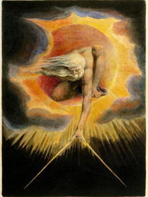 The Ancient of Days by William Blake. Image via Wikimedia Commons