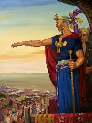 El Rey Benjamin by Jorge Cocco