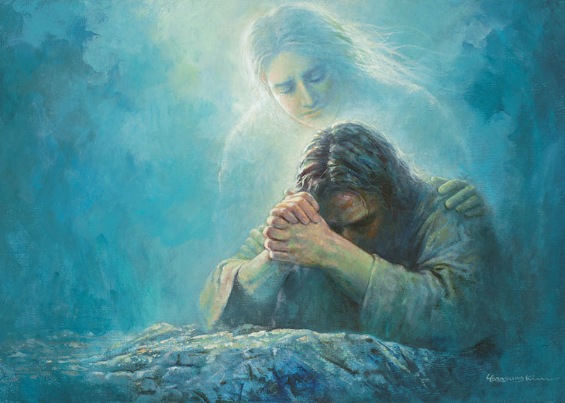 Gethsemane Prayer by Yongsung Kim.