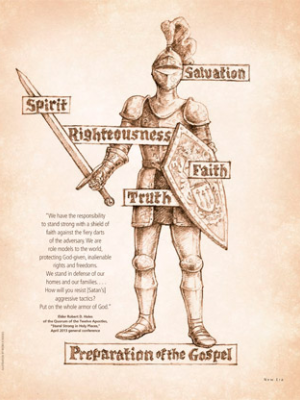 The armor of God. Artist unknown