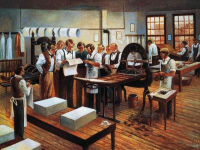 Printing of the First Book of Mormon by Gary E. Smith