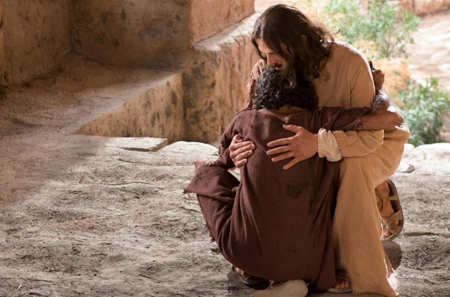 Healed Man Gives Thanks via lds.org