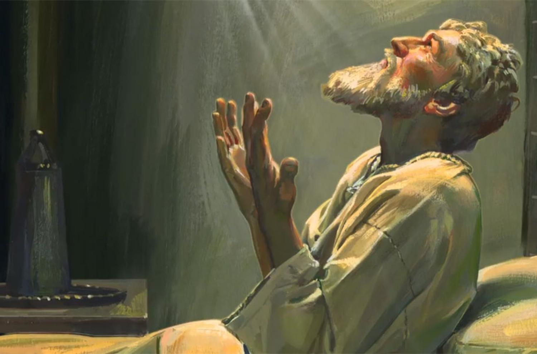 Painting by Robert T. Barrett. Image via LDS Media Library