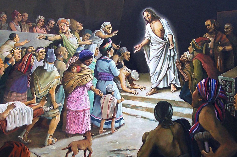 """Jesus Sanando"" by Jorge Cocco"