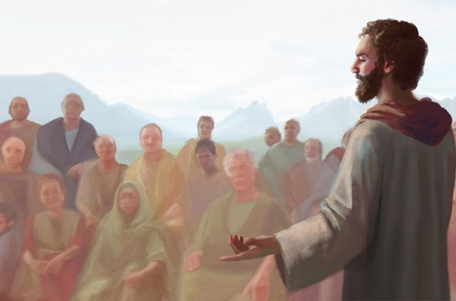 """Jacob"" by Normandy Poulter and the BYU Virtual Scriptures Group."