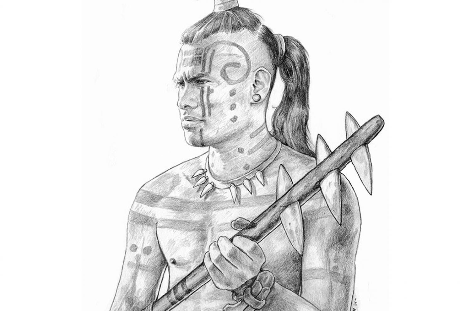 """""""Zerahemnah"""" by Mark Parker. Honorable Mention Winner of the 2016 Book of Mormon Central Art Contest."""