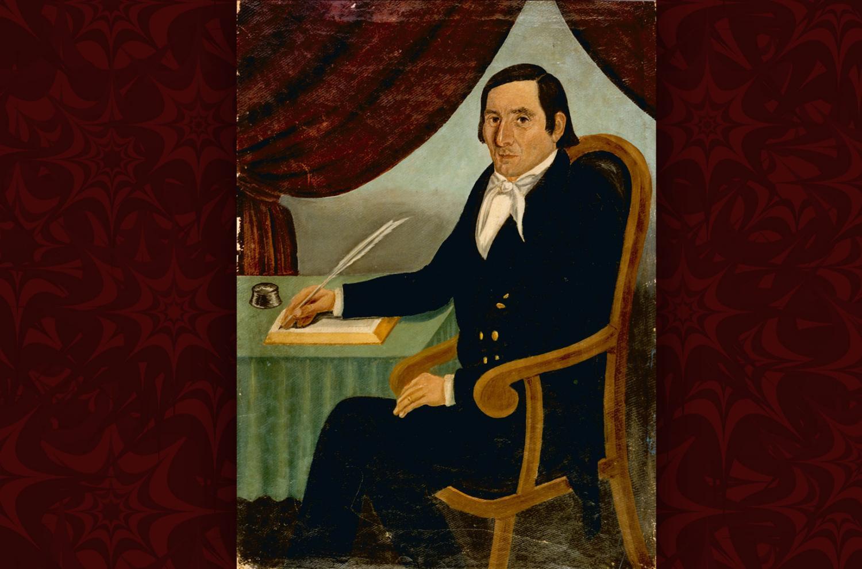 Portrait of Joseph Knight. Artist Unknown.