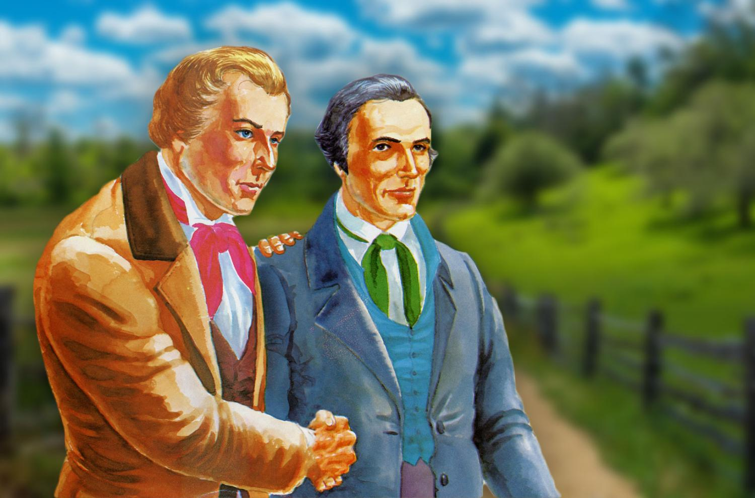 Oliver and Joseph by Vernon Murdock.