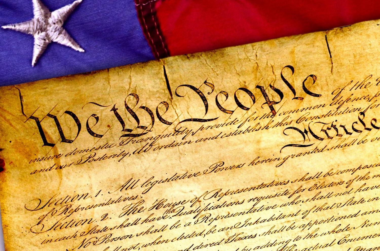 Image of U.S. Constitution via Pixabay.