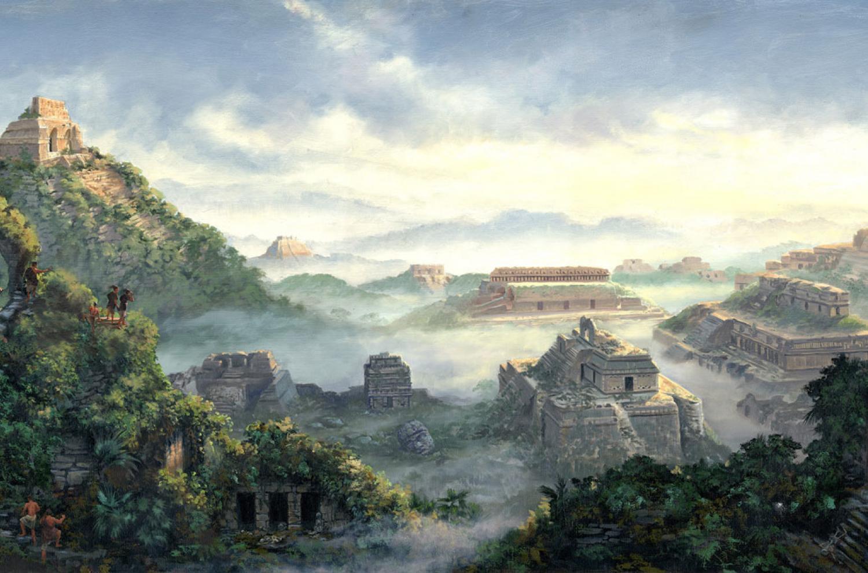 Dawn on the Land of Desolation, James Fullmer