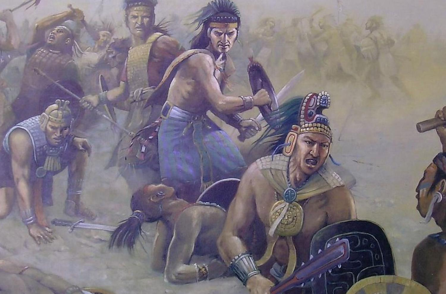 After the successive deaths of the Nephites' most prominent leaders, their government fell and war broke out again. Image by Joge Cocco