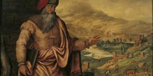 """Maarten van Heemskerck's """"The Prophet Isaiah Predicts the Return of Jews After Exile."""" Image Via WikiCommons."""