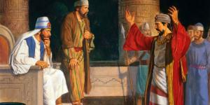 In ancient courts, curses as punishment were not uncommon. Image via lds.org