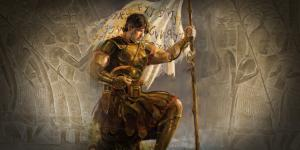 Captain moroni and the Title of Liberty by Jeremy Winborg