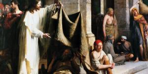 Jesus Heals the Sick by Carl Bloch
