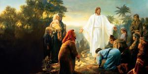 Christ revealing himself to the people of the New World. Image via sistereskanderl.com