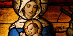 The Virgin Mary and the Christ Child. Image via Adobe Stock