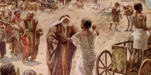 Meeting of Jacob and Joseph by William Hole