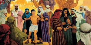 Joseph Is Sold by His Brothers by Ted Henninger