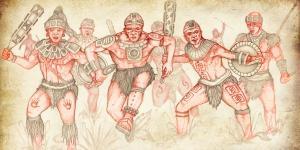 The Gadianton Robbers by Jody Livingston
