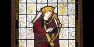 King David the Poet by Sir Edward Burne-Jones