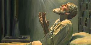Painting by Robert T. Barrett. Image via LDS Media Library