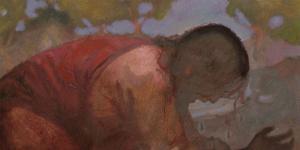 Gethsemane by J. Kirk Richards.
