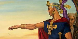 El rey Benjamin by Jorge Cocco.