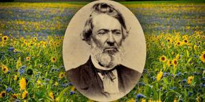 Portrait of William McLellin via The Joseph Smith Papers.