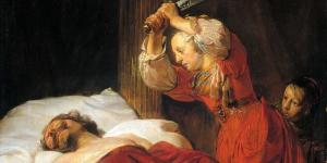 Judith and Holofernes by Jan de Bray. Image via Wikimedia Commons.
