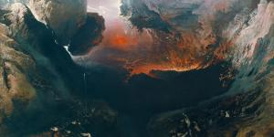 The End of the World by John Martin.
