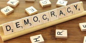 Democracy via the Blue Diamond Gallery