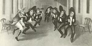 Shakers dance via Wikimedia Commons