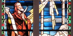 Isaiah Window at St. Matthews Lutheran Church in Charleston, SC