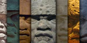 Olmec Heads by Book of Mormon Central