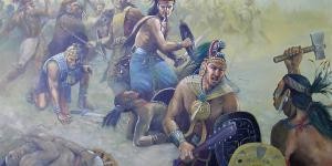 Batalla del Rio Sidon by Jorge Cocco