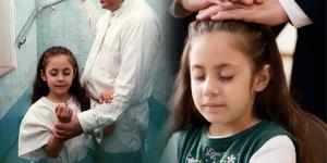 Girl Being Baptized and The Gift of the Holy Ghost via lds.org